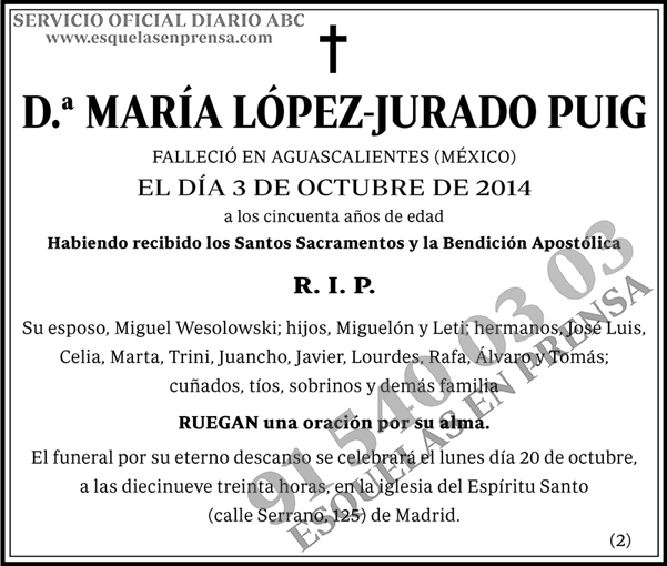 María López-Jurado Puig